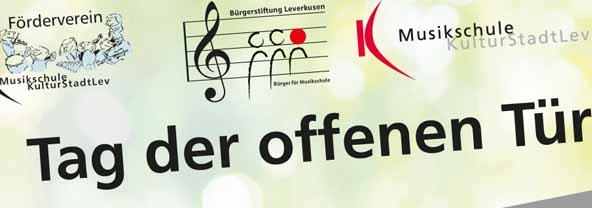 Tag der offenen Tür bei der Musikschule Leverkusen