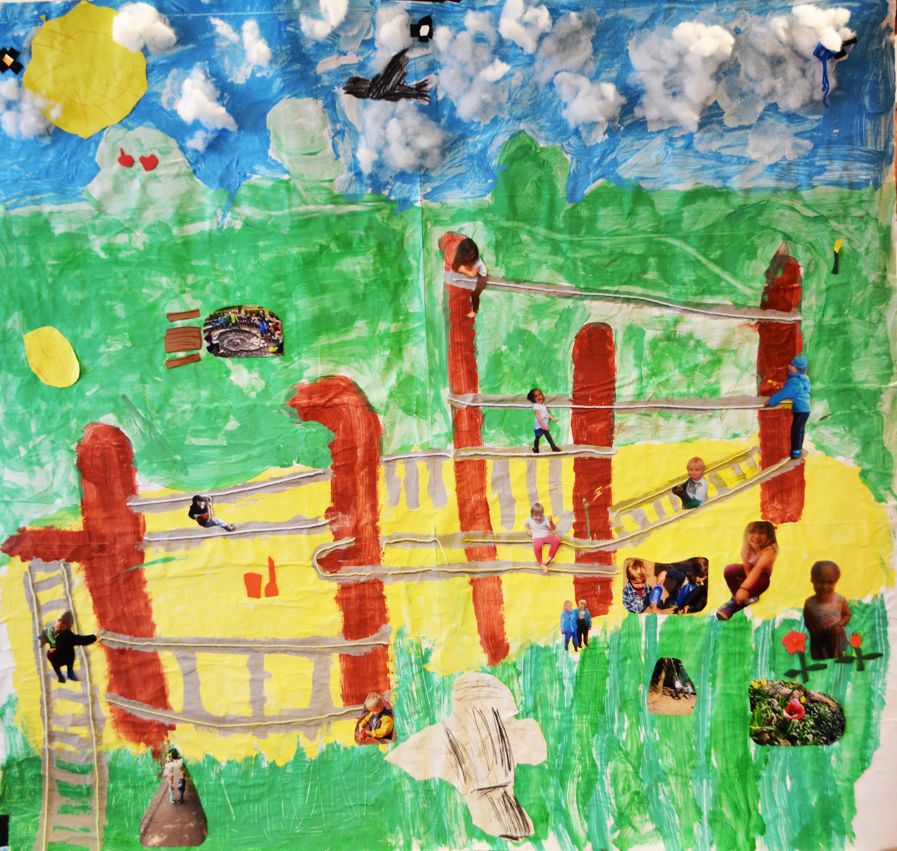 Bild der Kindergartenkinder