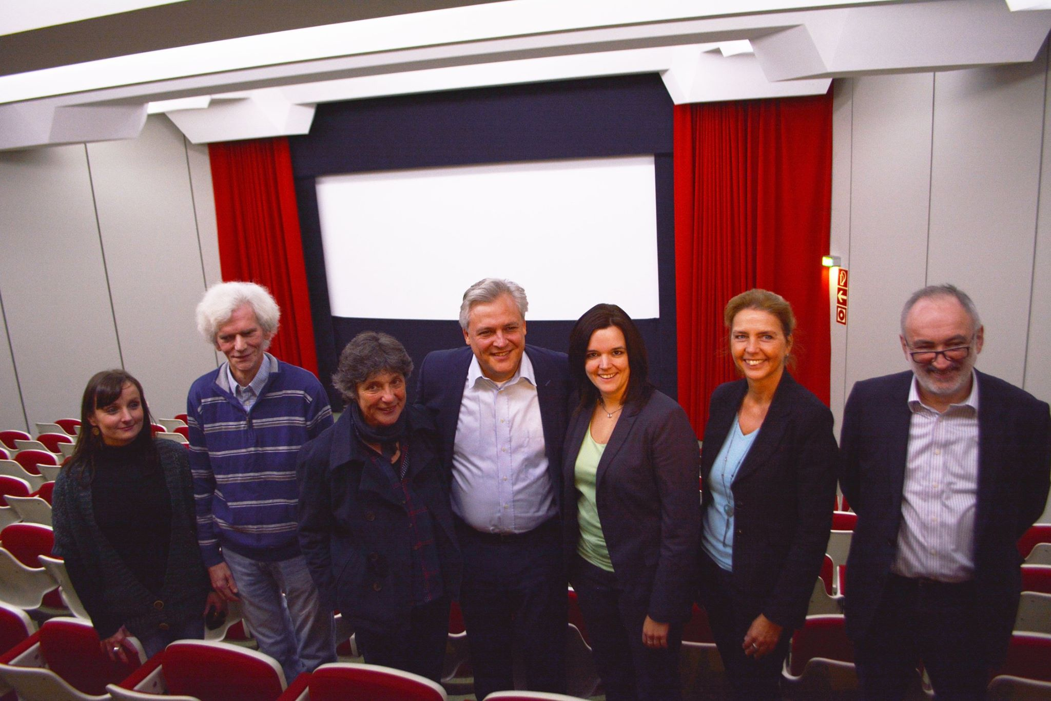Pressekonferenz zum neuen Digitalprojektor des Kommunalen Kinos