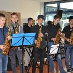 Jazzband beim musizieren