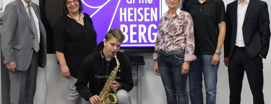 Pressetermin der Bürgerstiftung Leverkusen zum 5. JAZZ at the HEISENBERG